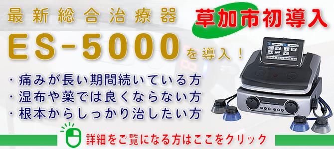 最新総合治療器 ES-5000
